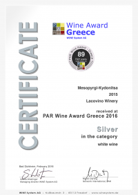 Lacovino Certificate_291_26153 Lacovino Winery Awards Wine